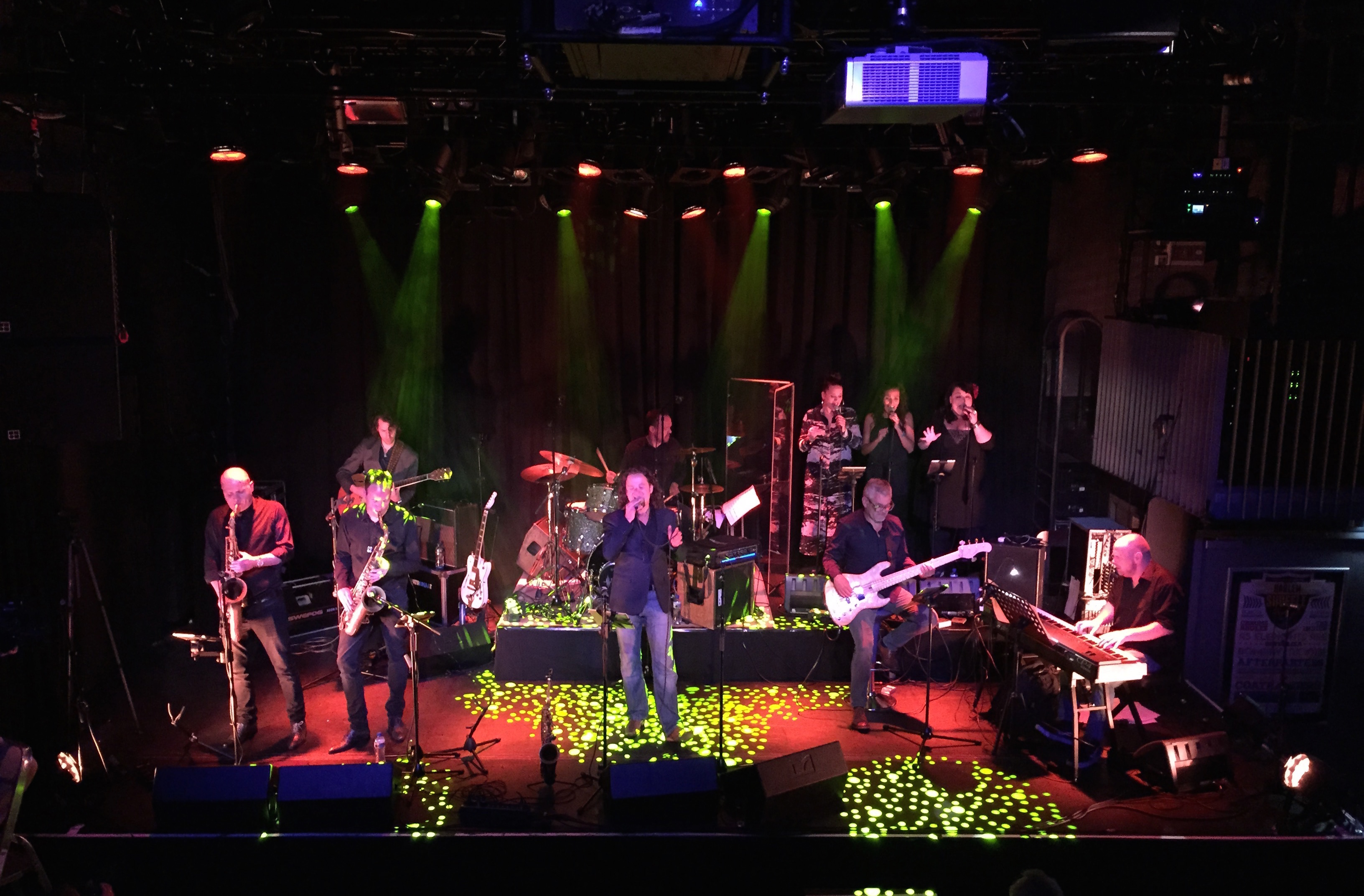 Videoregistratie & editing concert Royal Dutch Scam - Steely Dan Patronaat Haarlem