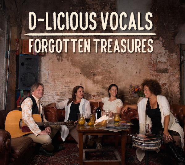 """Audio opname & mix D-licious Vocals CD """"Forgotten treasures"""""""