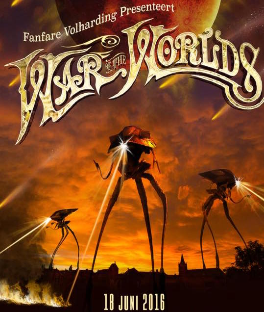 Videoregistratie & editing concert Fanfare De Volharding / War of the worlds, Noordeloos